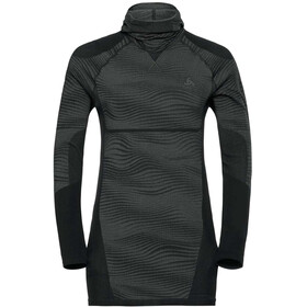 Odlo Suw Performance Blackcomb LS Top Herren black-odlo concrete grey-silver
